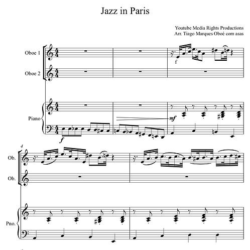 Jazz in Paris com Play Along