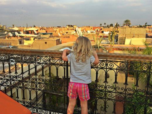 Carol quando vivia em Marrocos