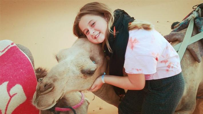 A Carol adora os Camelos