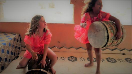 Elas e os tambores