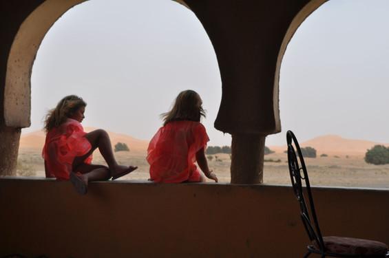 Vista para o deserto