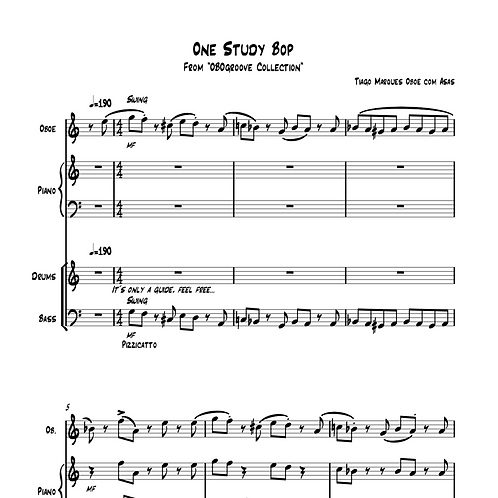 One Study Bop com Play Along