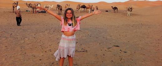 Carol e os camelos