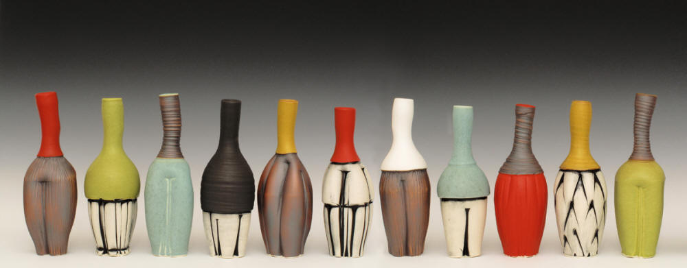 Ed and Kate Coleman Vases