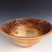 Carved Rim Bowl