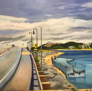 Joanne Bergen,  Lagoon Bridge, 24x18