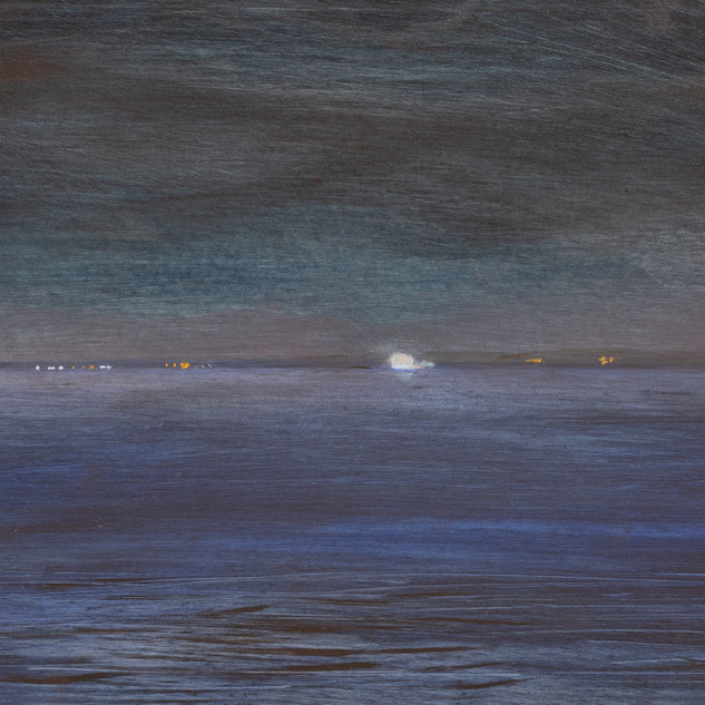 Cynthia Woehrle View from the Ferry - Night Crossing