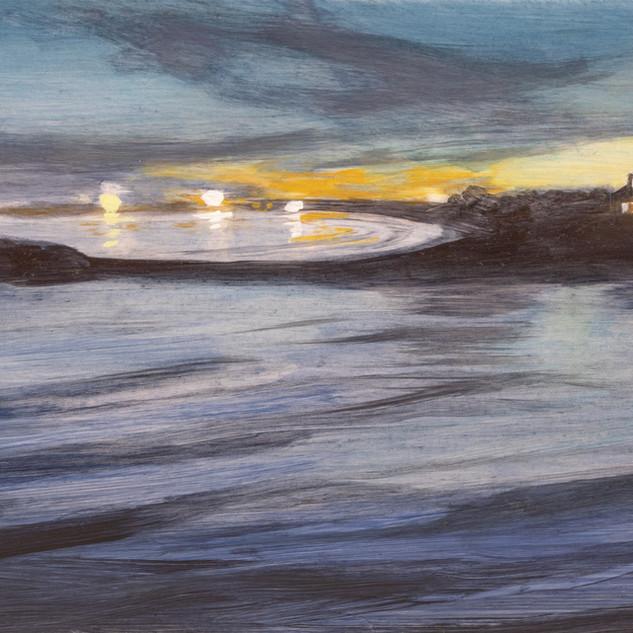 Cynthia Woehrle Lights at the Beach