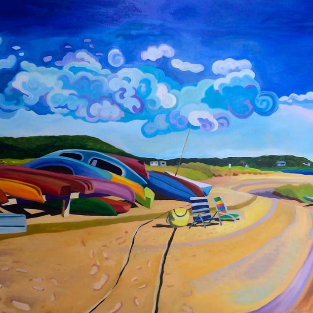 Joanne Bergen, Kayak Beach