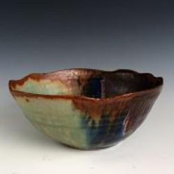 Wavy Edged Bowl