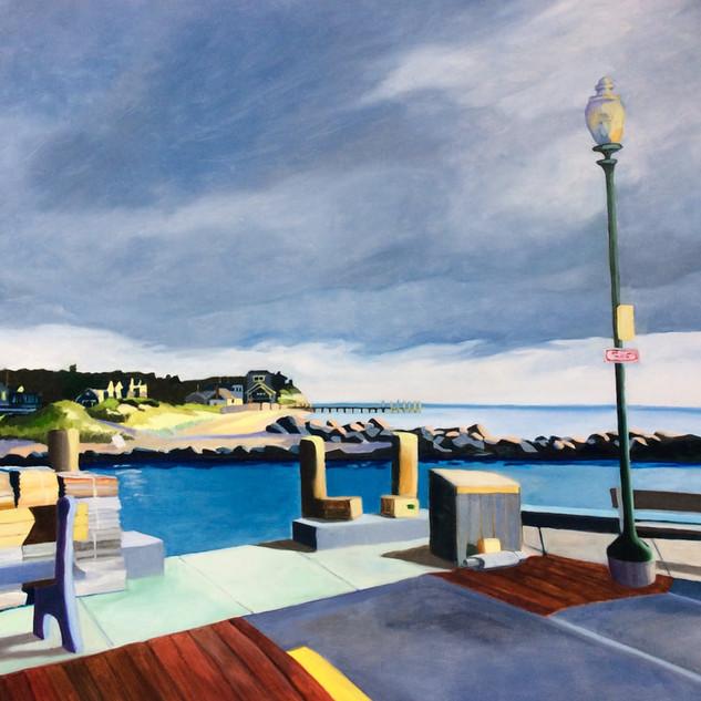 Joanne Bergen, First Light, Jetty Beach
