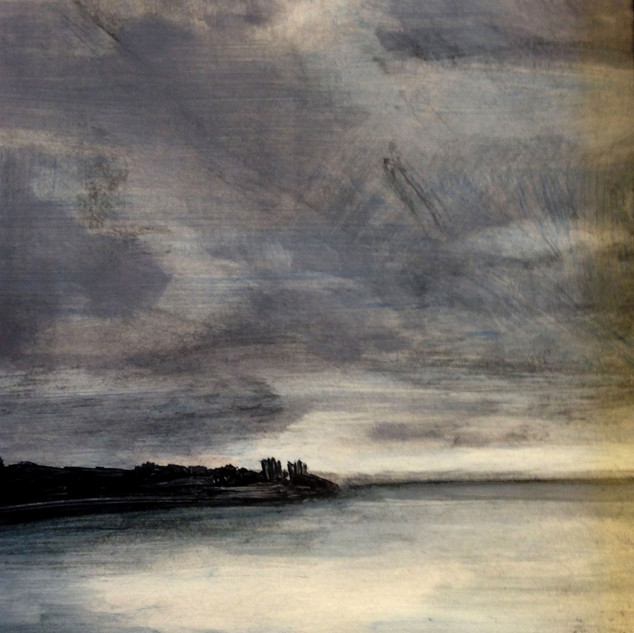 View_from_Ferry_Grey oil Cynthia Woehrle