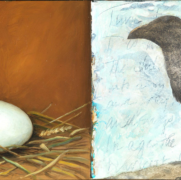 Jeanette Staley Egg and Crow