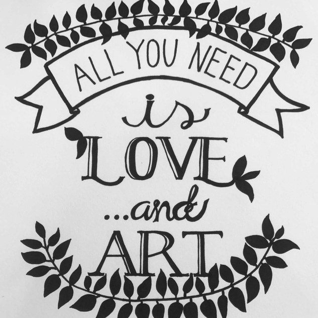 All you need art