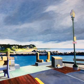Joanne Bergen,  First Light, Jetty Beach.