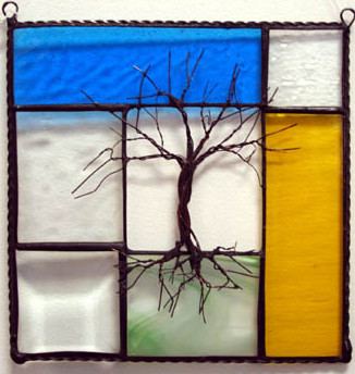 Terry Zigmund Stained glass Tree of Life