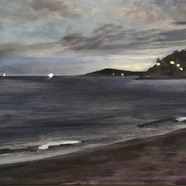 Cynthia Woehrle Lights at the Shore