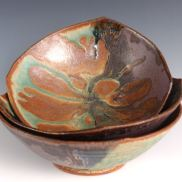 Lopsided Squared Bowl