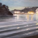 Cynthia Woehrle  Water and Lights at Nig