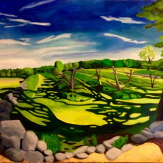 Eric's Field,  Joni Bergen, oil