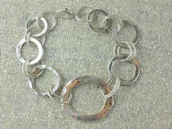 Sterling hammerchain bracelet.JPG