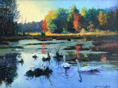 Will Kirkpatrick, Late Afternoon at Assabet Refuge