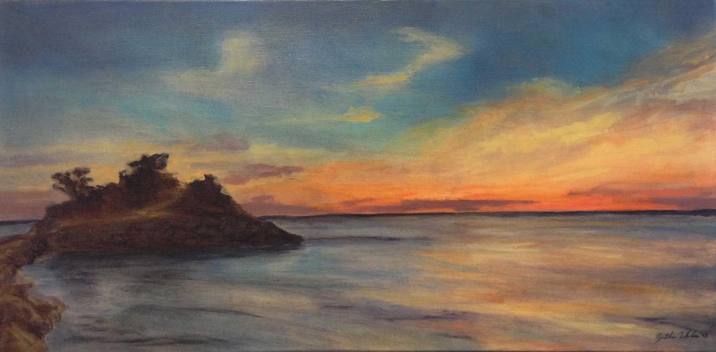 Knob at Sunset