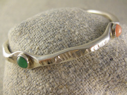 Thin stone bangle, This looks good when two are worn as a pair.jpg