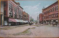 Main Street Hudson, MA 1910