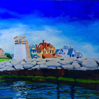 Inkwell View,  Joni Bergen, oil