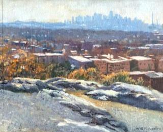 Will Kirkpatrick, Boston from Waitte Mount
