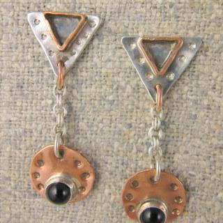 Triangle drop earrings.JPG