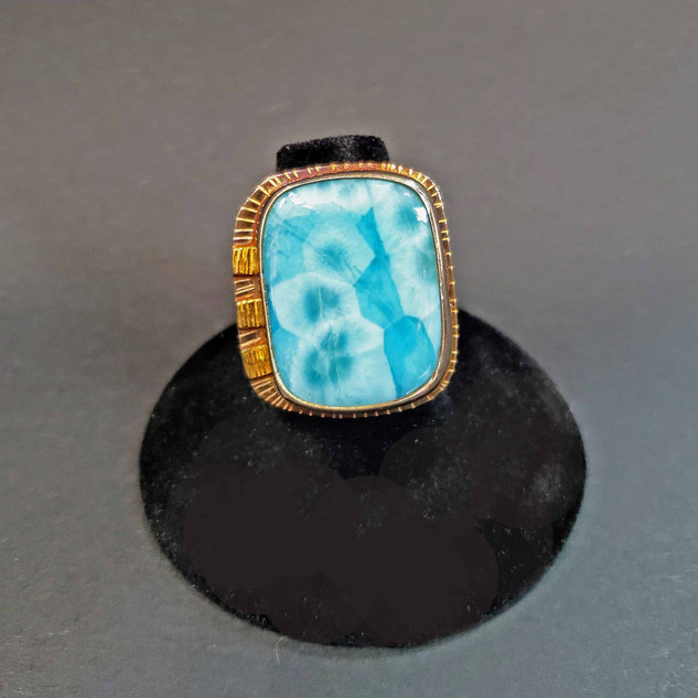 Julie Shaw Larimar Ring