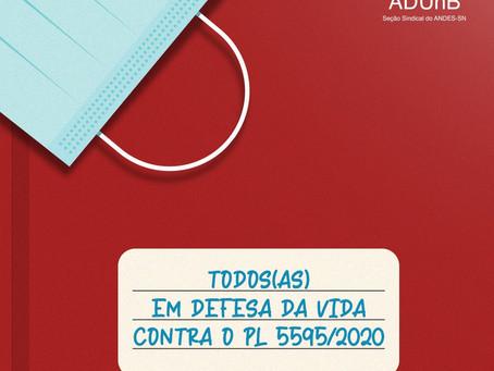 Nota ANDES-SN | Conclamamos a categoria pela defesa da vida contra o PL 5595/2020