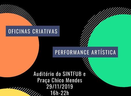 """""""Território Negro - Arte, Cultura e Política Preta"""" acontece dia 29 na UnB"""