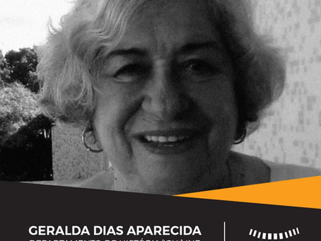Nota de pesar pelo falecimento da professora Geralda Dias