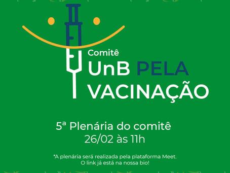 Reunião do Comitê UnB pela Vacinação