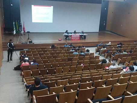 Auditório da ADUnB recebe seminário internacional organizado pelo ANDES