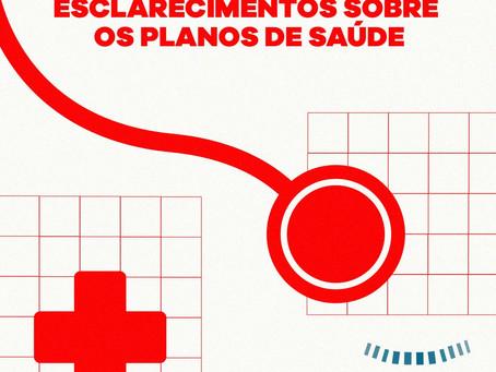 Esclarecimentos sobre os Planos de Saúde