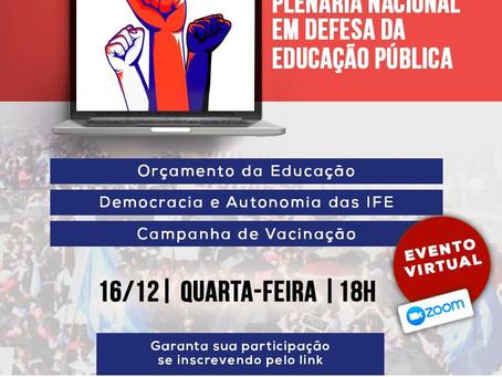 Plenária Nacional da Educação