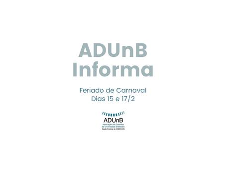Informe | Feriado de Carnaval