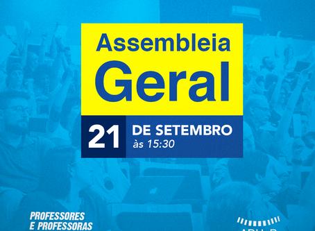 Assembleia Geral Virtual da ADUnB acontecerá na próxima segunda-feira (21)