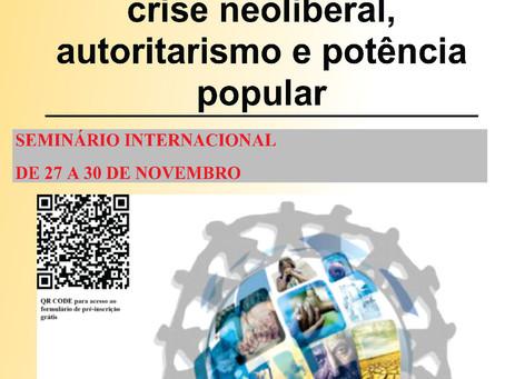 Soberania em questão: crise neoliberal autoritarismo e potência popular