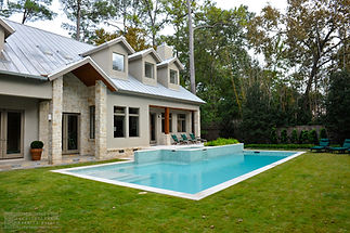 "<img src=""backyard.jpg"" alt=""modern traditional architecture exterior of backyard with pool in Memorial"">"