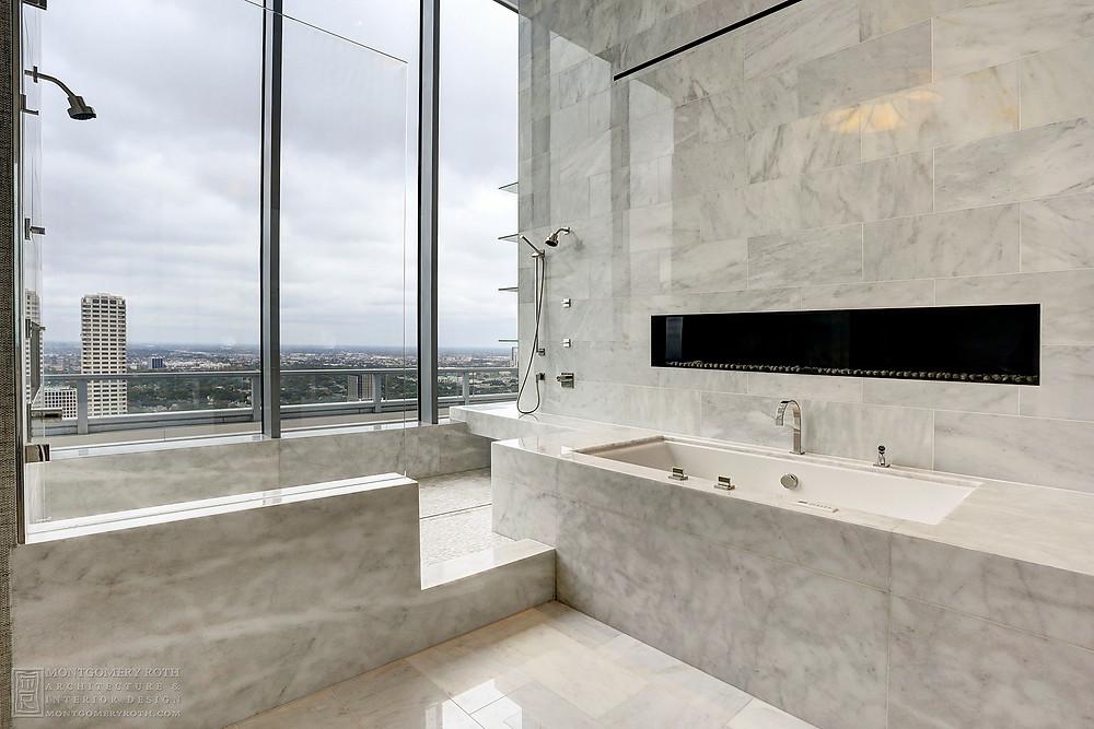 "<img src=""modern bathroom.jpg"" alt=""modern marble penthouse bathroom designed by Montgomery Roth in Houston"">"