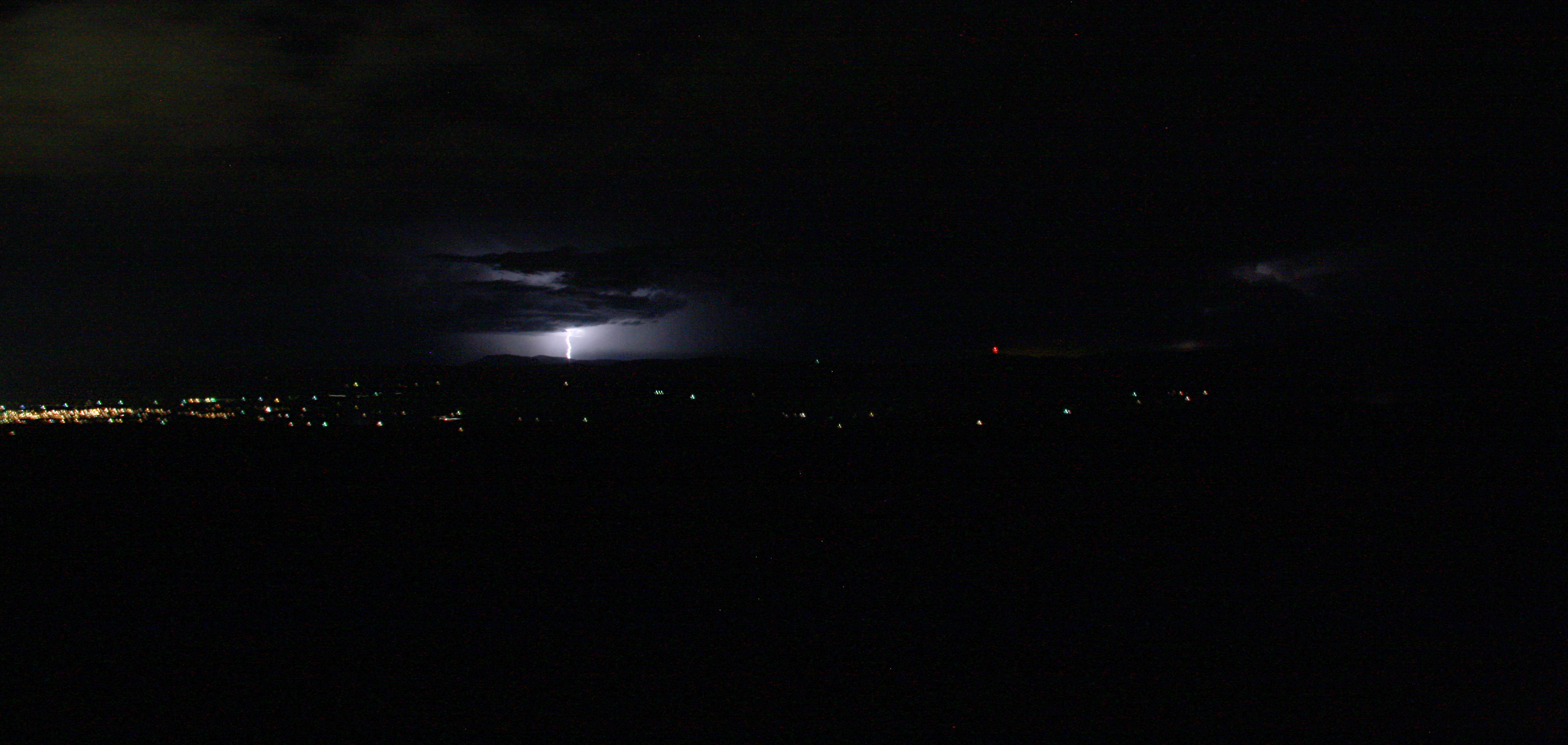 Lightning and southern Montrose