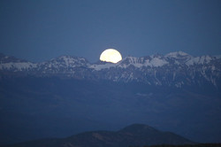 Moonrise over the Cimarrons