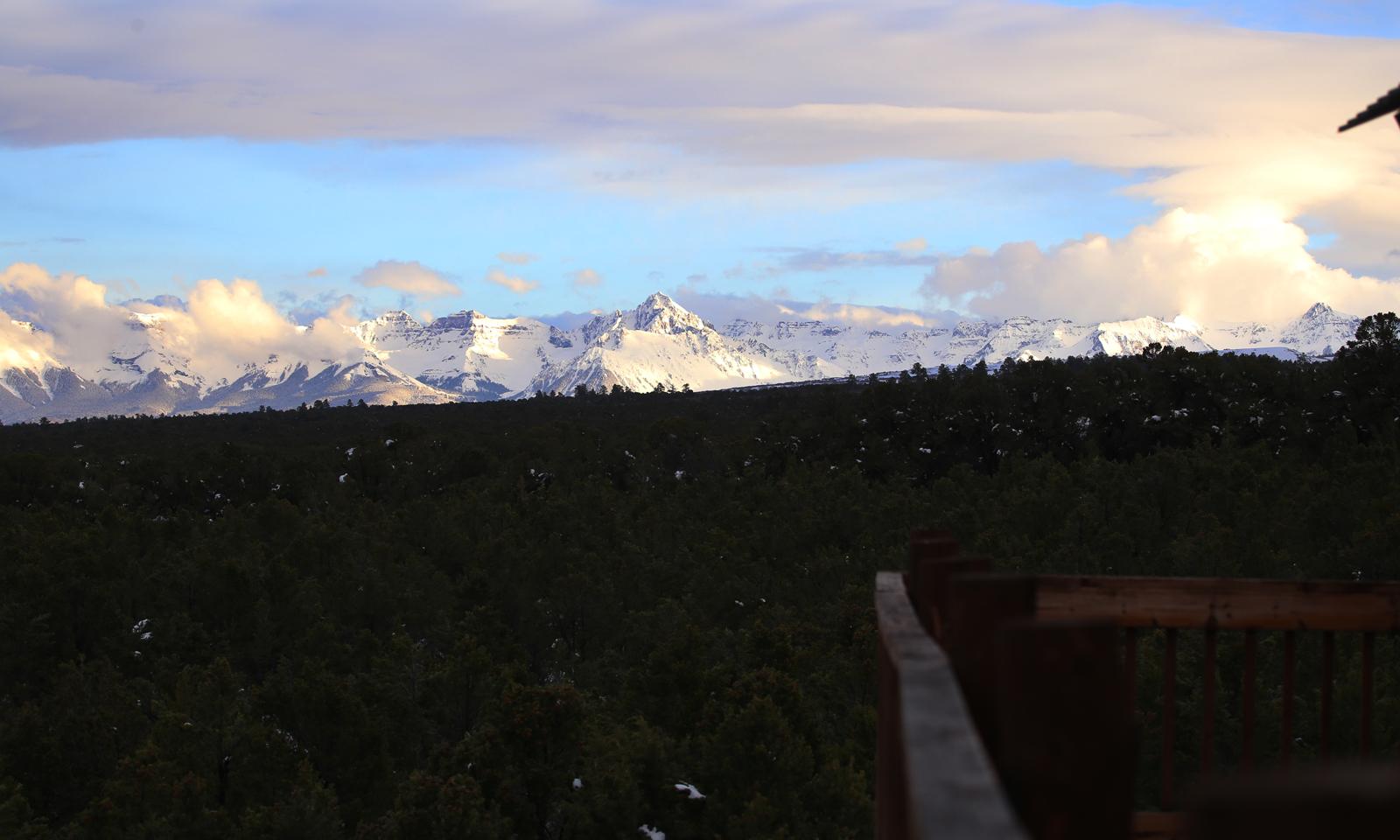 Mt Sneffels in winter