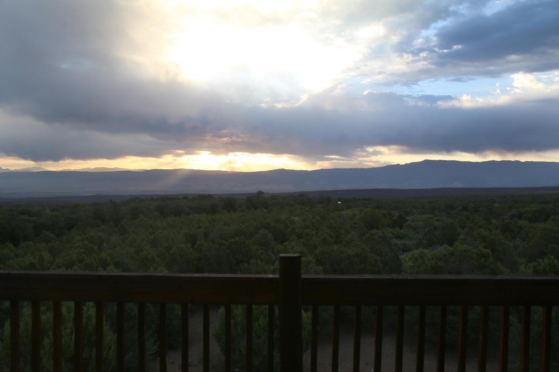 Sunrise over the Cimmarons