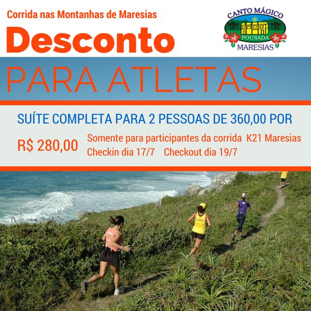 Aos Participantes da K21 Maresias - São Sebastião